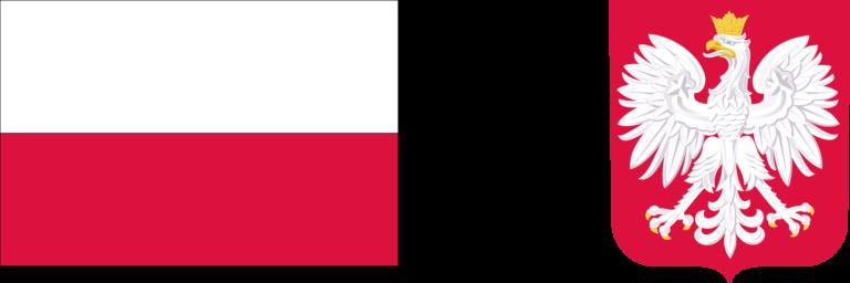 Flaga RP - Godło RP